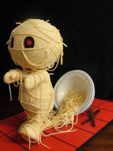 Spaghetti-Mumie, Quelle: Jessica Allard