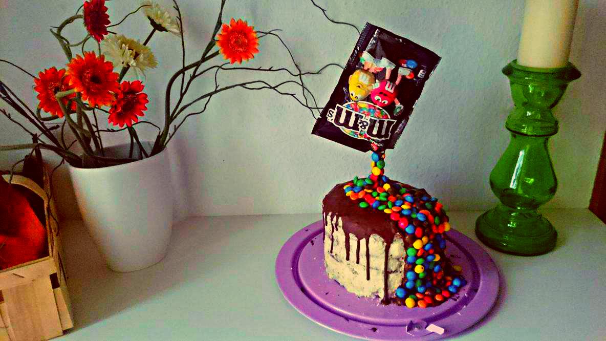 Dripping Cake Mit Mms Und Ganache Des Grauens Ochoa Backt